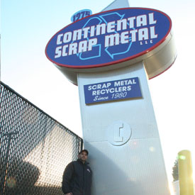 WELCOME TO CONTINENTALSCRAP.COM